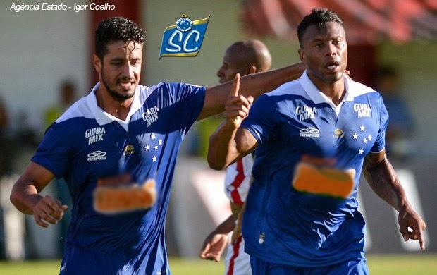 Primeiro gol do atacante no Camp. Mineiro