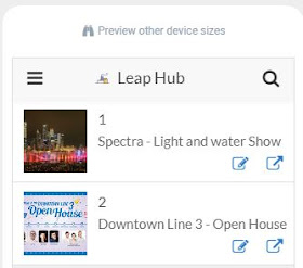 Leap Hub Web App - Click to Leap!