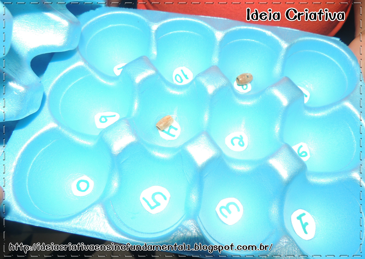Multiplicação e Adição Jogo Pedagógico Caixa de Ovos