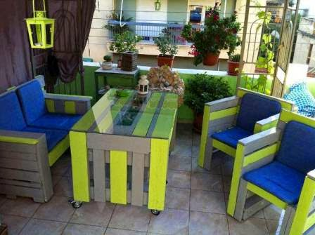 Wood pallet exceptional furniture decoration