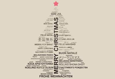 Feliz Navidad - Merry Chritsmas - God Jul - Buon Natale