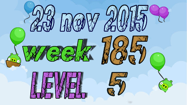 Angry Birds Friends Tournament level 5 Week 185