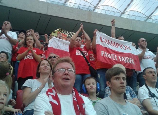 Kibice na Stadionie Narodowym - fot. Tomasz Janus / sportnaukowo.pl