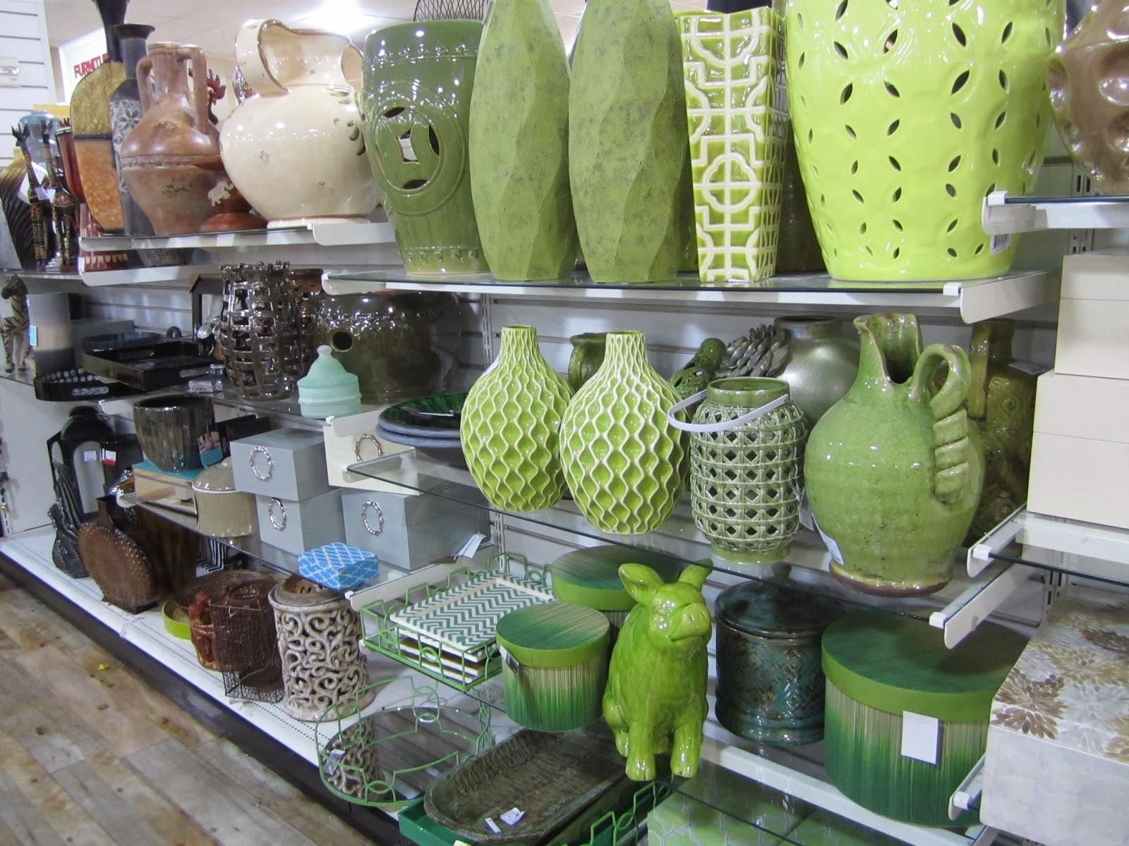 More Ceramic Stools, And A Green Garden Piggy!