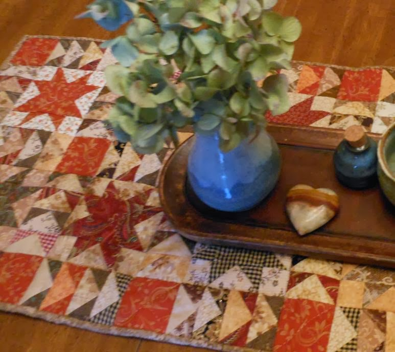 Rhubarb Crisp Table Runner