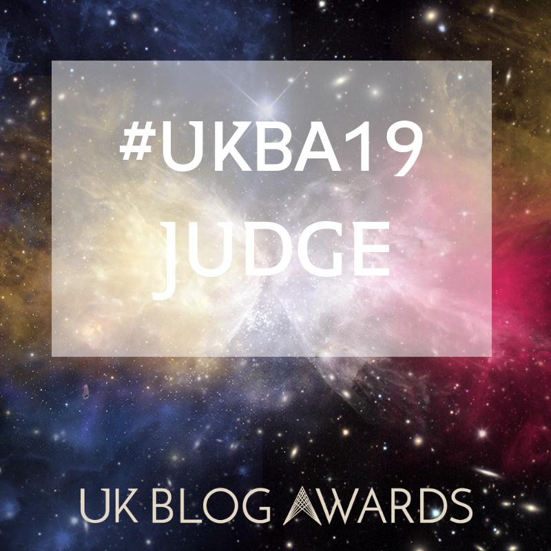 Baby and Parenting UK Blog Awards Judge 2019