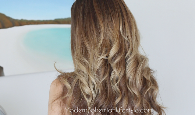 Ombre Balayage Hair At Home