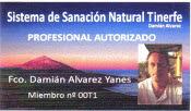 Creator of Natural Healing System Tinerfe