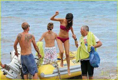 Justin Bieber on Vacation