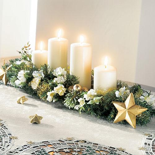Amo la decoraci n centro de mesa navide a - Mesa navidena ...
