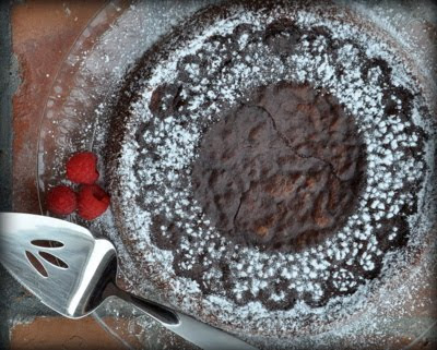 Chocolate Decadence Cake, the ultimate chocolate experience, a dense, moist, ultra-rich almost-flourless chocolate cake | Kitchen Parade