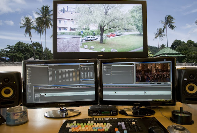 Post-production in video editing