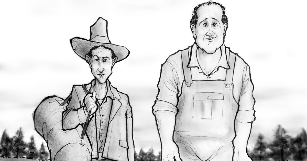 a comparison of george milton and lennie small to the great depression The novel, which takes place during the great depression, begins beside the salinas river near soledad, california, where two migrant workers, lennie small and george milton, are walking on their way to a nearby ranch they have recently escaped from a farm near weed where lennie, a mentally .