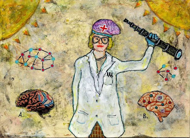 Illustration pour le journal Le Monde du 13 février 2019, supplément Science et Médecine