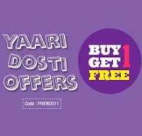Printvenue : Yaari Dosti Offer Buy 1 Get 1 Free