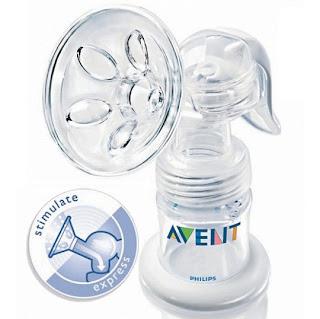 Máy hút sữa bằng tay Avent an toàn không chứa BPA