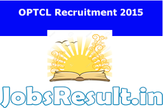 OPTCL Recruitment 2015
