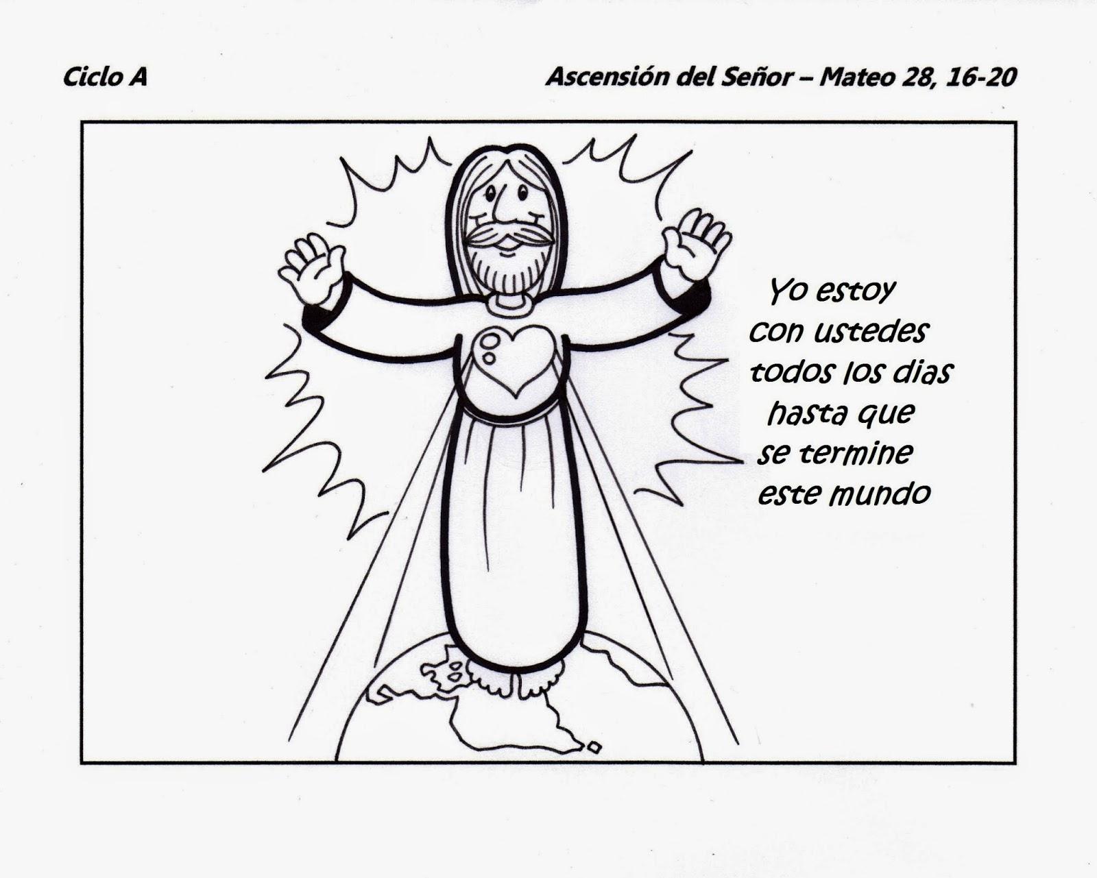 Recursos para el VII Domingo de Pascua - Ascensión del Señor ...