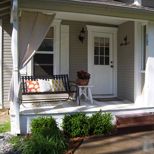 Design Ideas for Small Porches