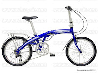 20 Inch Wimcycle Pocket Rocket 8 Speed Folding Bike