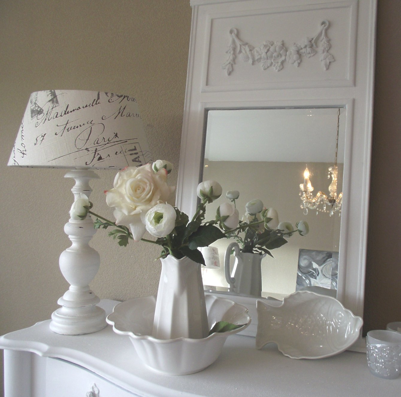 Shabby chic con amore casa shabby chic shabby chic on for Arredamento francese shabby