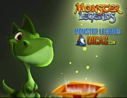 Ganhe Prêmios Aleatórios Grátis no Monster Legends