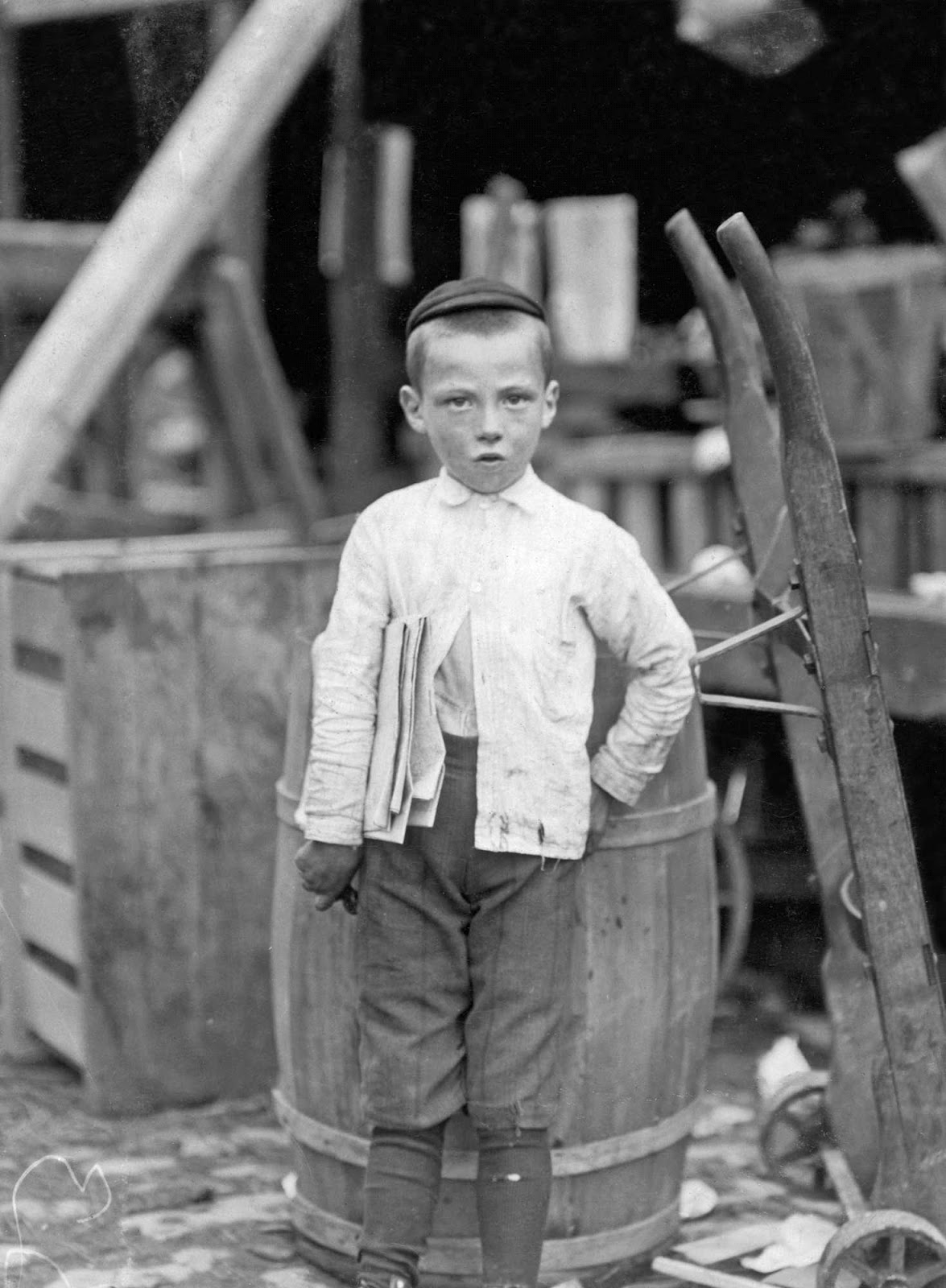 lewis hine A look at early 20th-century photographer and sociologist, lewis hine hine's  documentary photography helped change perceptions of ellis.