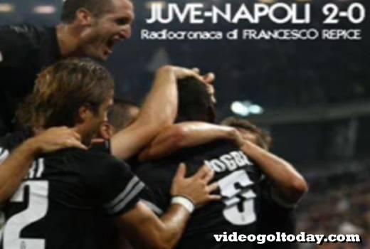 Francesco Repice radiocronaca Juventus-Napoli 2-0