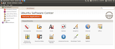 how to install java through ubuntu software center in ubuntu 10.04