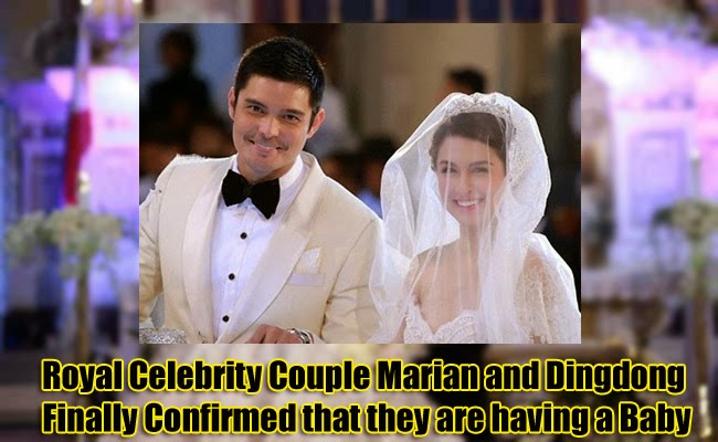 Royal Celebrity Couple Marian and Dingdong Finally Confirmed that they are having a Baby