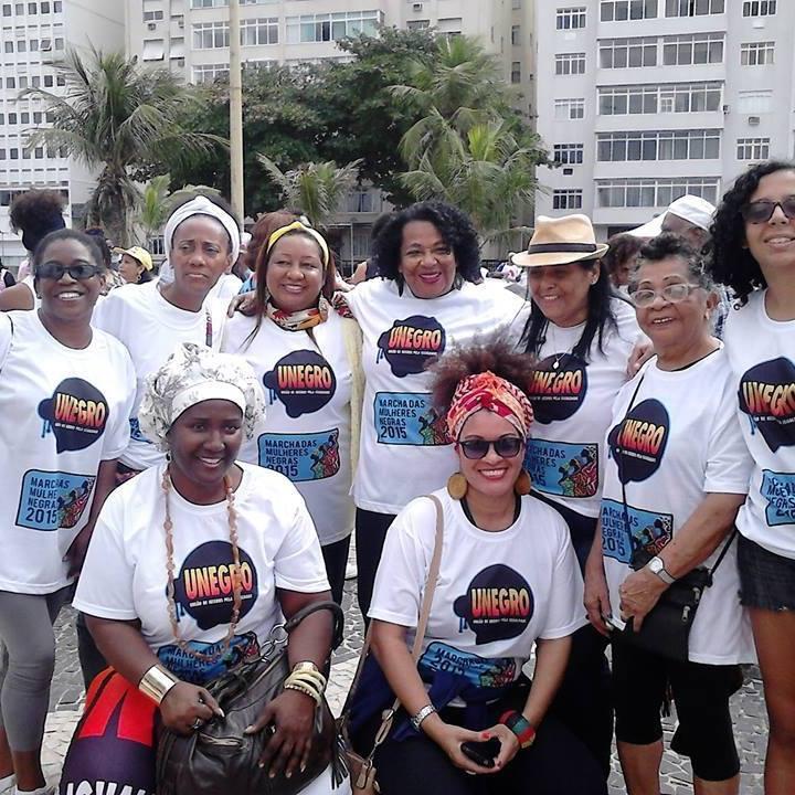 Pré Macha das Mulheres Negras!