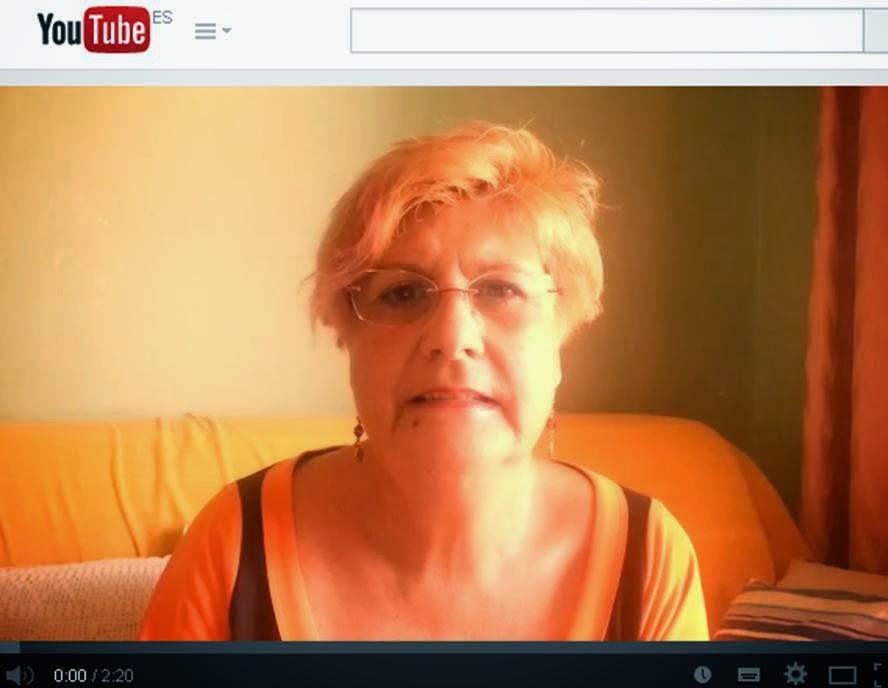 Vídeo de María Luisa Martín Vargas