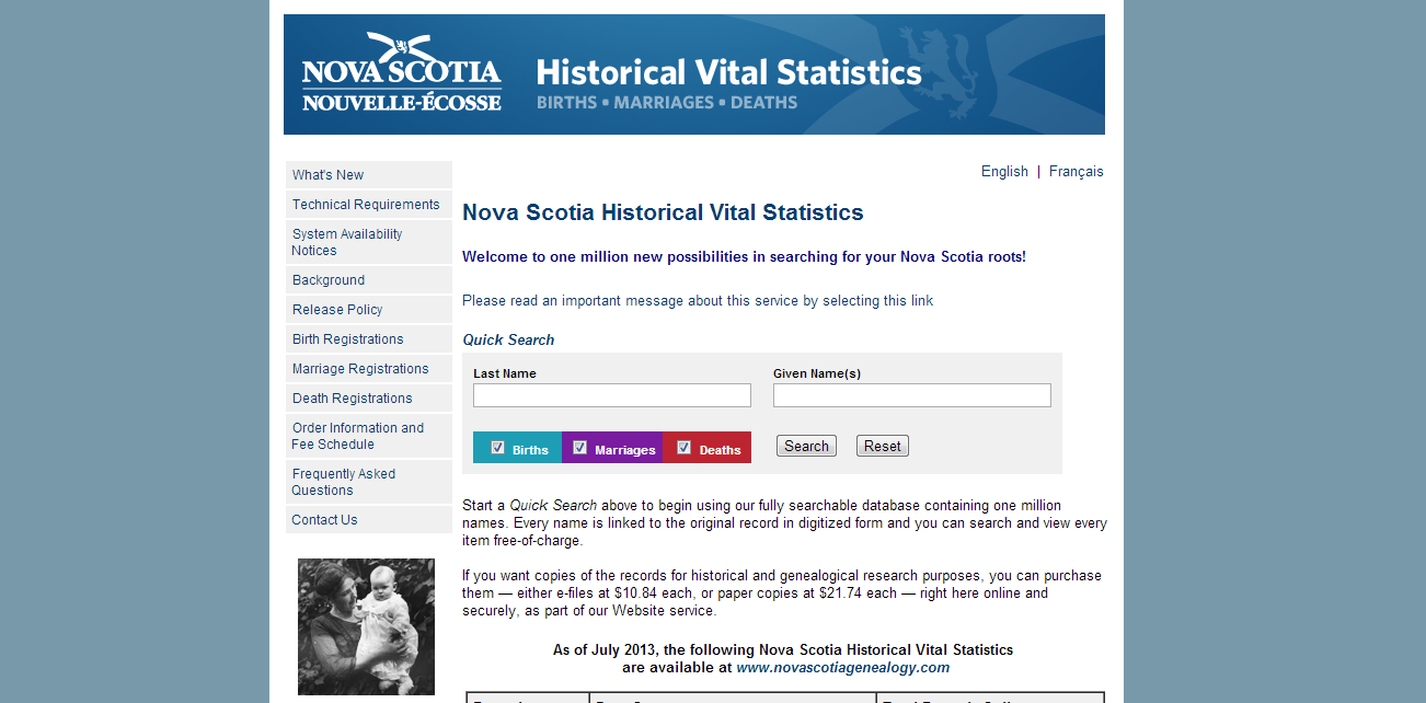 Victory via google alfred segree michaels so as it turns out my ancestors couldnt have picked a better place to meet in canada than nova scotia the nova scotia vital statistics page pretty much aiddatafo Gallery