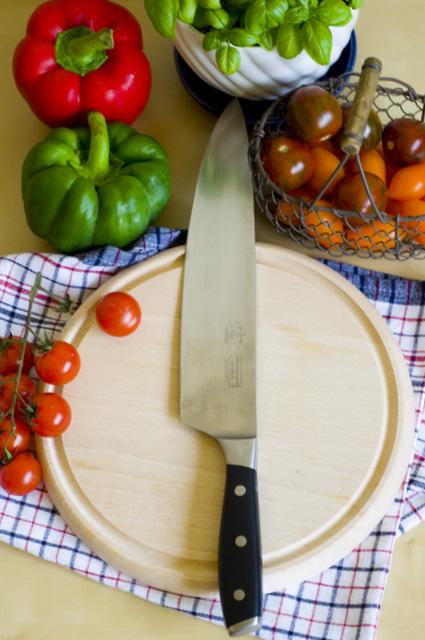 Foul Mdammas z pieczonymi pomidorkami