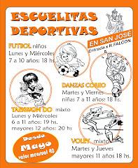 ESCUELITAS DEPORTIVAS