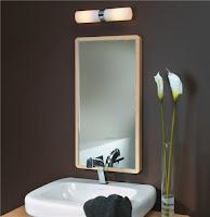 Iluminación de baños modernos