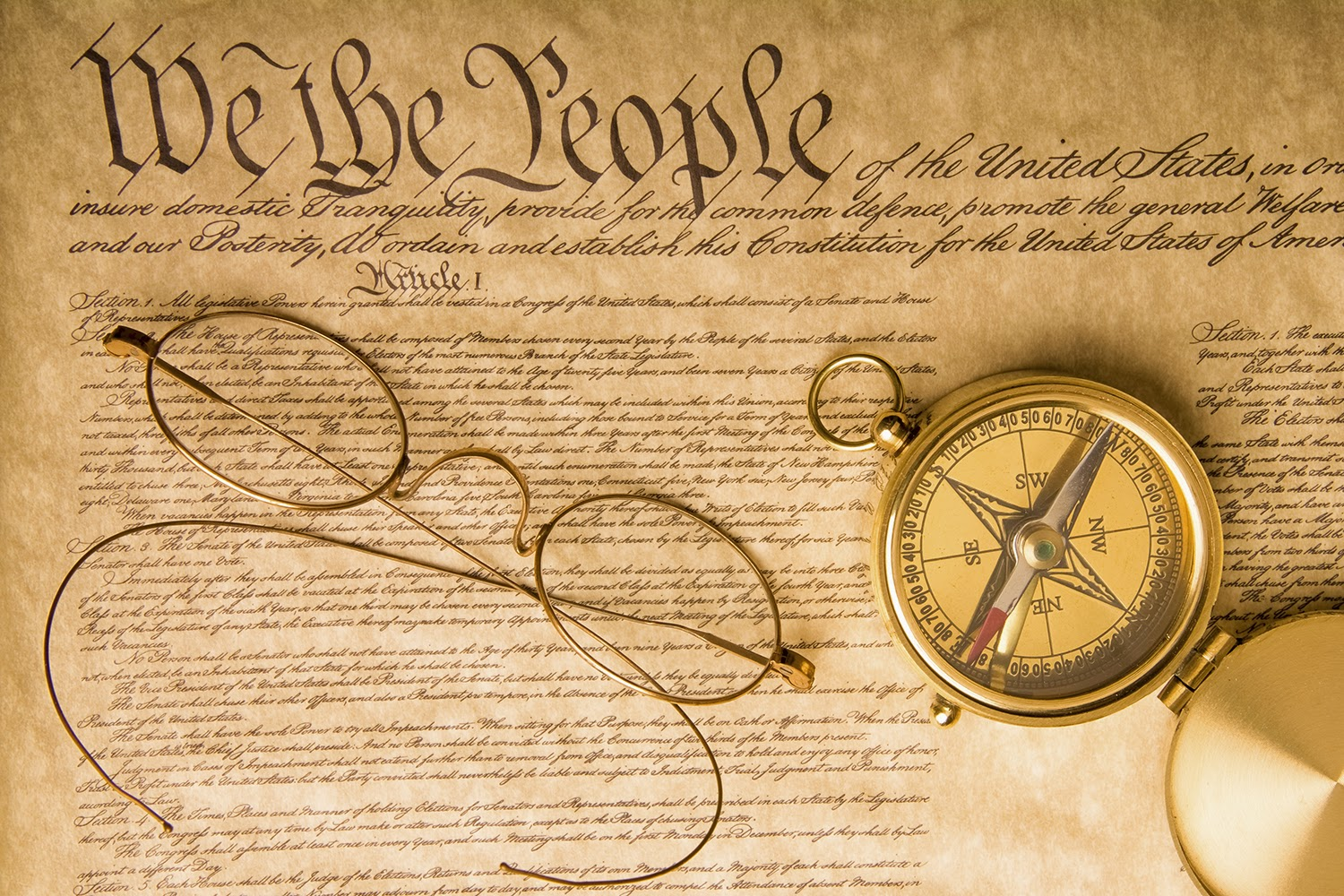 image of the U.S. Constitution