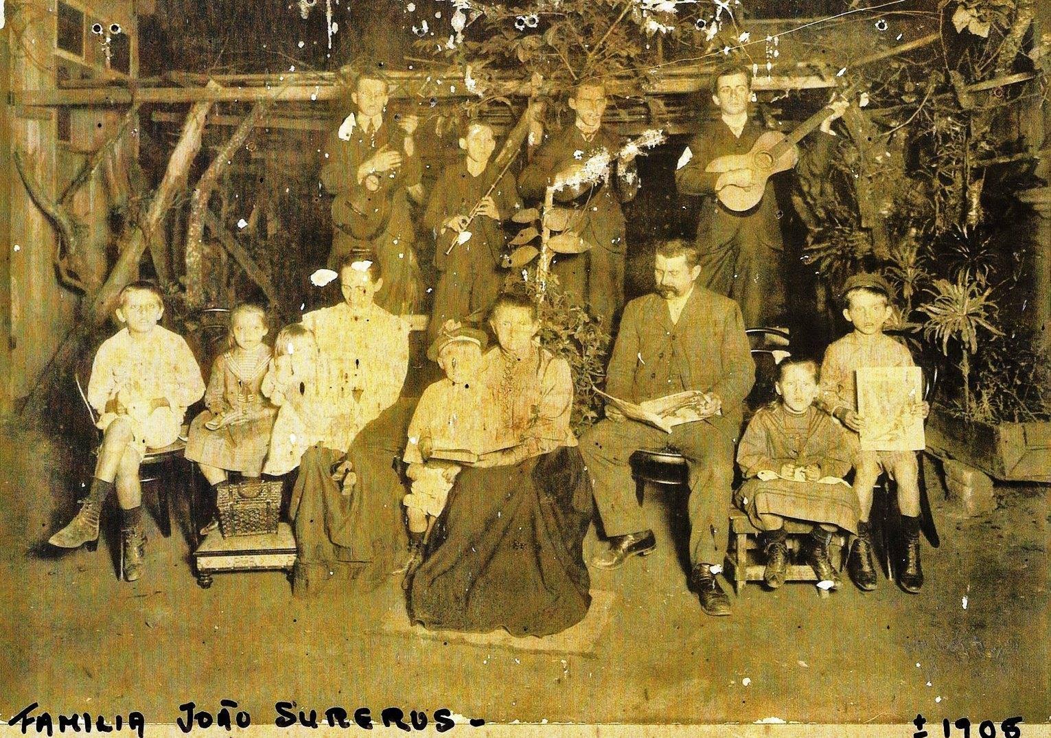 FAMÍLIA JOÃO SURERUS - 1908