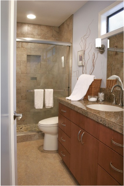 Contemporary bathroom design ideas for Bathroom design 9x9