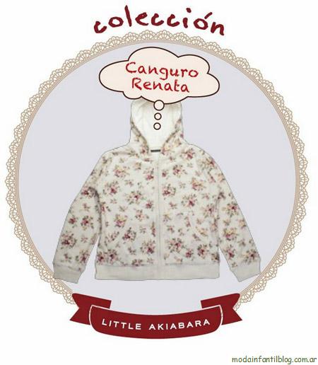 Little Akiabara invierno 2012. Moda infantil 2012.
