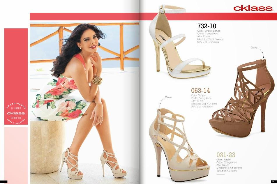 Catalogo Cklass calzado dama