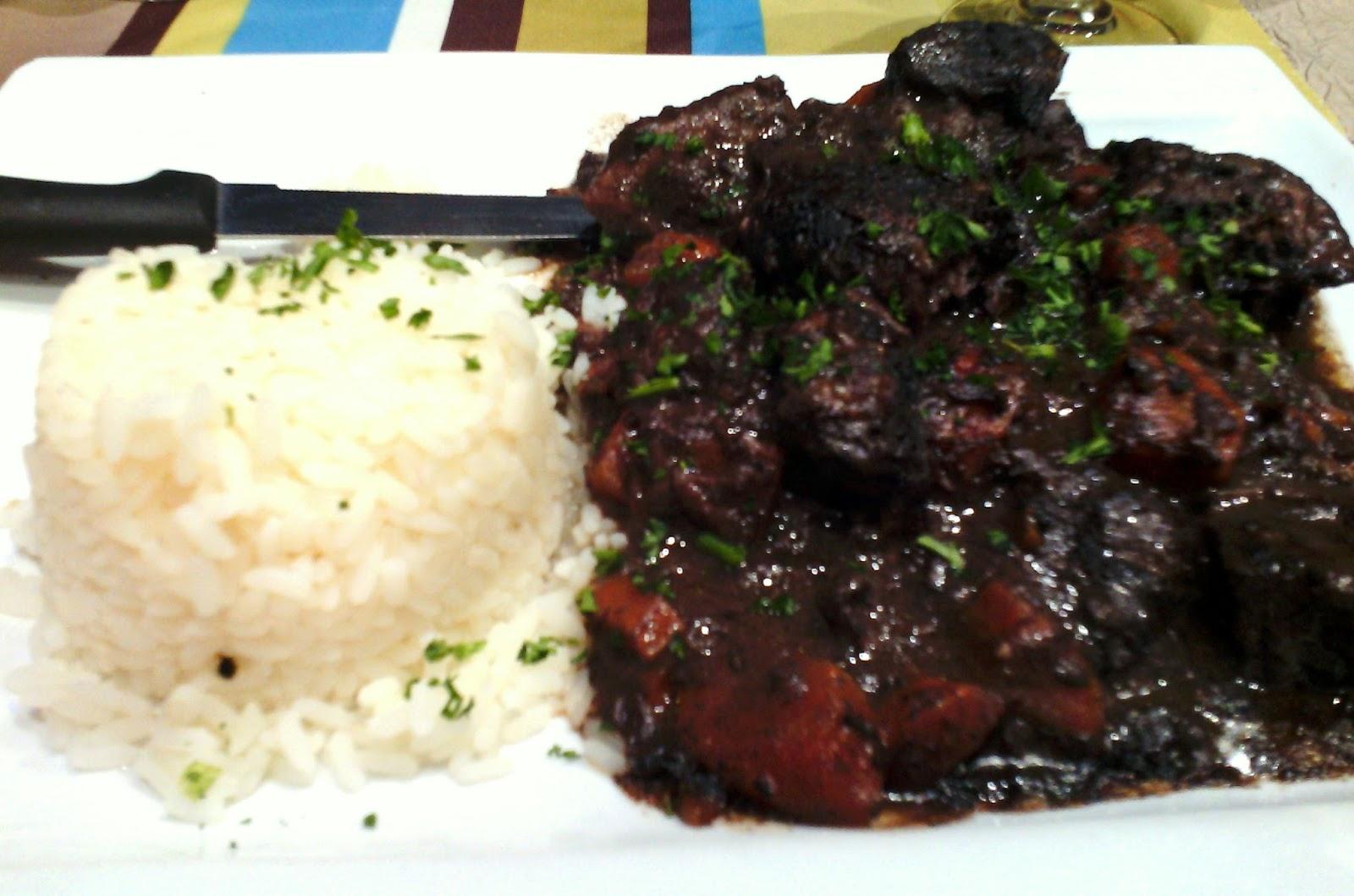 guardiane de boeuf - beef gardiane recipe - camargue recipe