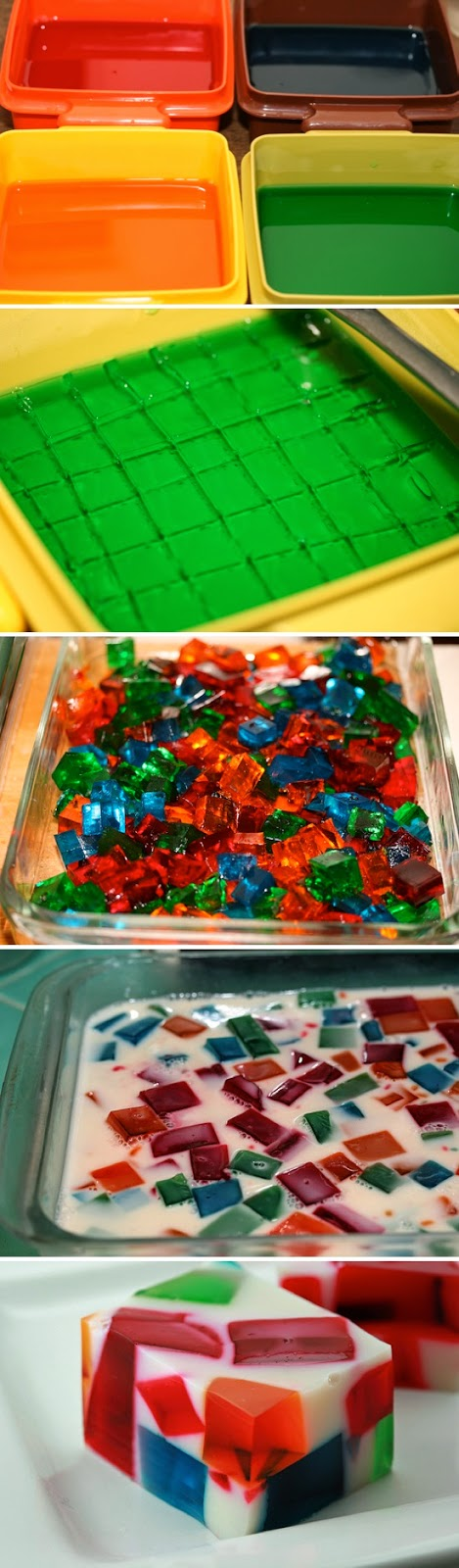 How To Make Broken Glass Jello