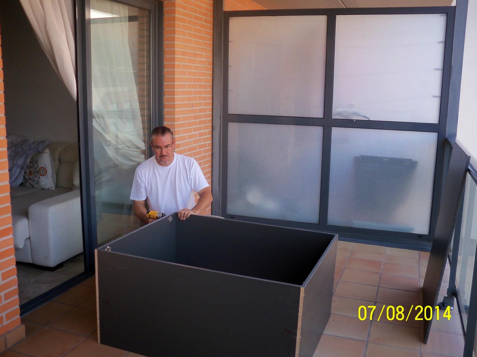 Pepe Granell Armario Modular Terraza Ebanister A 2014  ~ Precio Armario Aluminio Terraza