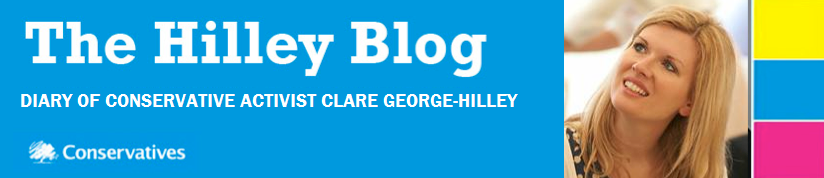 The Hilley Blog - news & views from Clare George-Hilley
