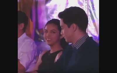 Maine and Alden during a press conference
