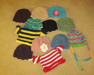 Bridget's hats July 12