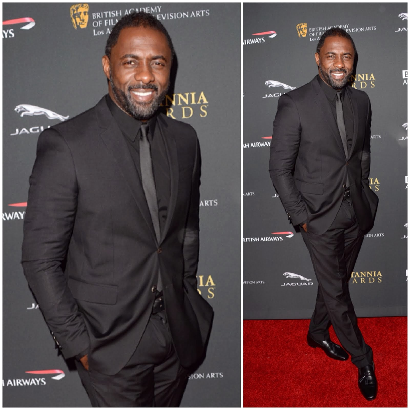 Idris Elba in Burberry - 2013 BAFTA Britannia Awards