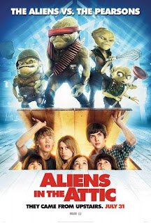 Ver online: Pequeños invasores (Aliens in the Attic / They Came From Upstairs) 2009
