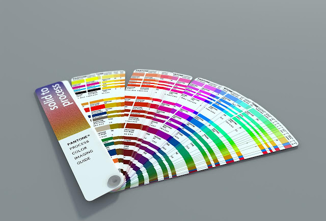 Carta de color de Pantone